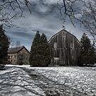 ball's falls mill & barn by Brock Hunter