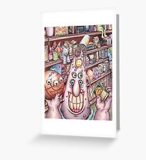 Low Life - The Whole Hole - Bodul Shopkeeper Greeting Card