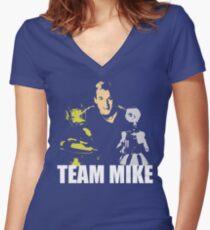 MST3K Team Mike Women's Fitted V-Neck T-Shirt