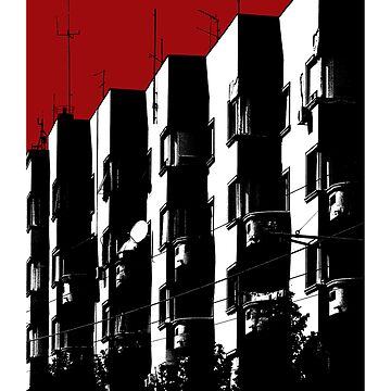 Buildings in Sin City / Belgrade / Serbia by StudioDestruct