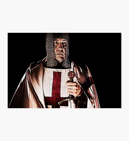 Founding of the Knights Templar Photographic Print