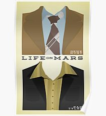 Life on Mars - Gene Hunt/Sam Tyler Wardrobe  Poster