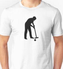 Croquet player Unisex T-Shirt