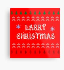 Larry Christmas Metal Print