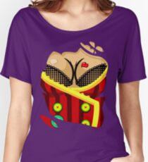 Moxxi - Red Women's Relaxed Fit T-Shirt