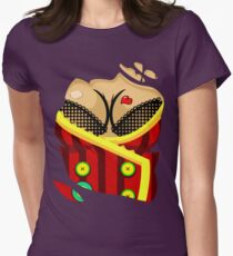 Moxxi - Red Women's Fitted T-Shirt