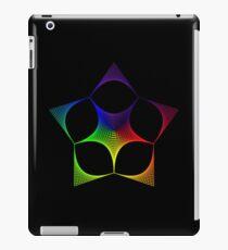 Spectral Star Grid iPad Case/Skin