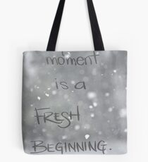 Fresh Beginning Tote Bag