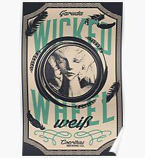 Wicked Wheel Weiß | FFXIV Poster