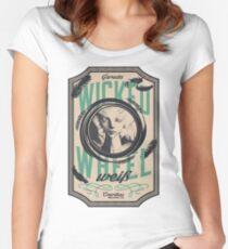 Wicked Wheel Weiß   FFXIV Women's Fitted Scoop T-Shirt