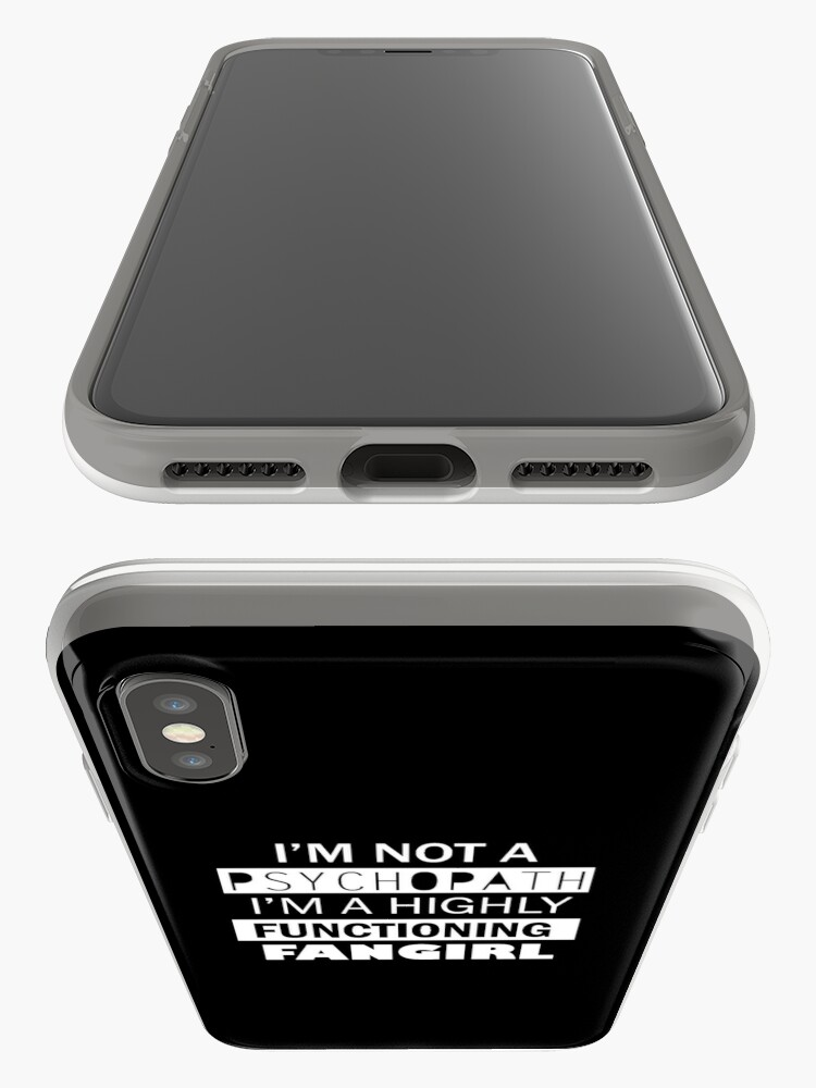 Alternative Ansicht von I'm a Highly Functioning Fangirl iPhone-Hülle & Cover