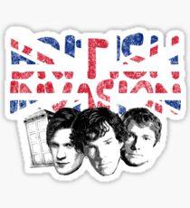 British Invasion Sticker