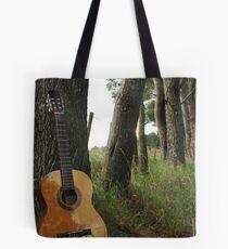 Music Scenery Tote Bag