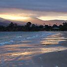 Howrah beach sunset - Hobart, Tasmania, Australia by PC1134