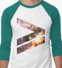 Greater Than [Messier 17]   Mathematix Men's Baseball ¾ T-Shirt