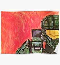 Master Chief Halo Tribute Poster