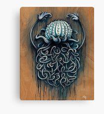 Hard Shelled Jellyfish  Canvas Print