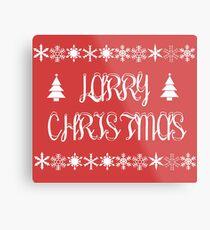 Larry Christmas 2 Metal Print