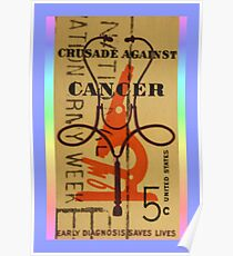 Stamp Out Cancer Poster