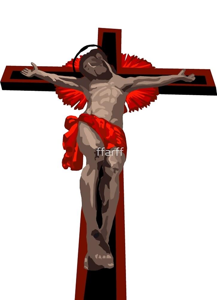 crucifixion by ffarff