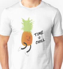 Time to Chill Pineapple Unisex T-Shirt