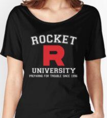 Team Rocket University Women's Relaxed Fit T-Shirt