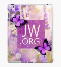 JW.ORG (Purple Butterflies) iPad Case/Skin