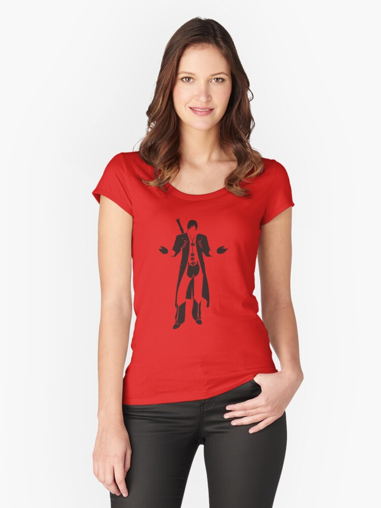 Dante Women's Fitted Scoop T-Shirt Front