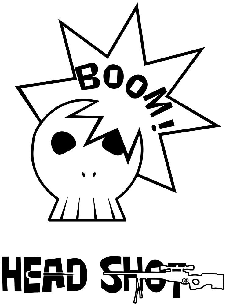 Boom Head shot by YouLittleB