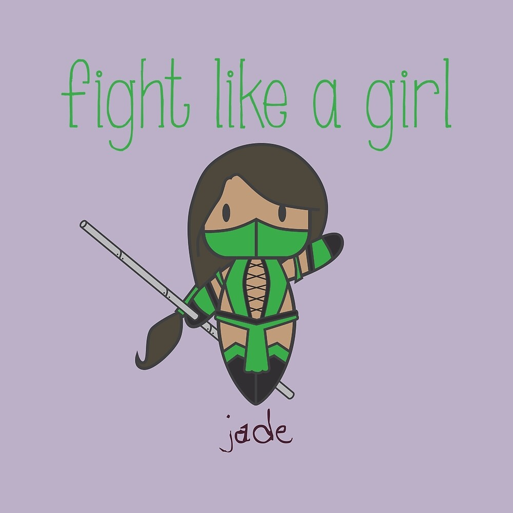 Fight Like a Girl | Friend Warrior by isasaldanha