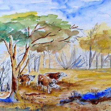 I had a farm in Africa by Happyart