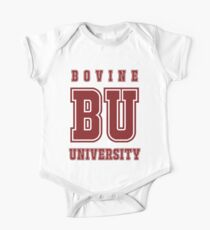 Bovine University - Simpsons One Piece - Short Sleeve