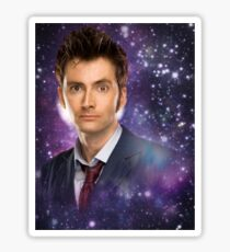 The 10th Doctor in Space Sticker