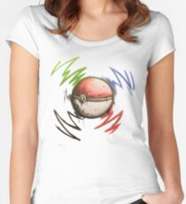 Pokeball! Women's Fitted Scoop T-Shirt