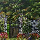 The Gate - Oil Painting by Avril Brand