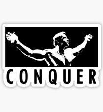 Arnold Schwarzenegger - Conquer Sticker