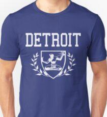 DETROIT - Spirit of Detroit Crest (vintage distressed) T-Shirt