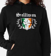 d26b2252d Sullivan Family Shamrock Crest (vintage distressed) Lightweight Hoodie