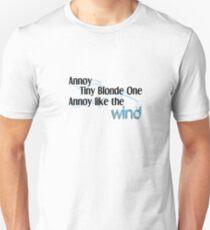Annoy Tiny Blonde Unisex T-Shirt