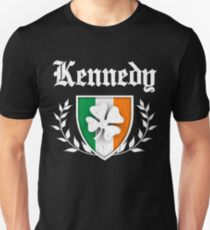 Kennedy Family Shamrock Crest (vintage distressed) Unisex T-Shirt
