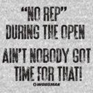 Ain't Got Time...Open 2014 by vbahns