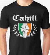Cahill Family Shamrock Crest (vintage distressed) Unisex T-Shirt