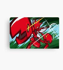 Scizor   Bug Bite Canvas Print