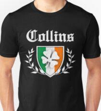 Collins Family Shamrock Crest (vintage distressed) T-Shirt