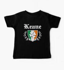 Keane Family Shamrock Crest (vintage distressed) Baby Tee