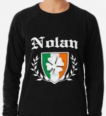 Nolan Family Shamrock Crest (vintage distressed) Leichter Pullover