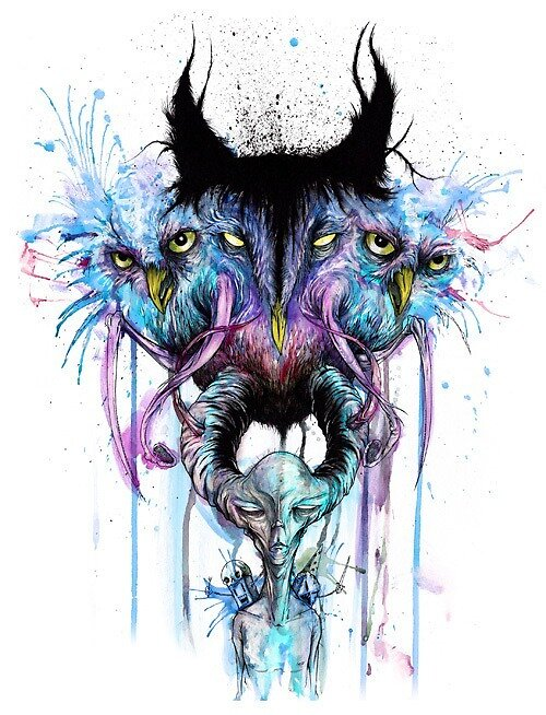 Art, Dope, Owl by Aaserud