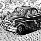 Hurry Highway 51 by Paolo Uberti