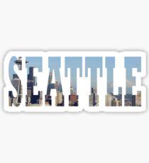 Pegatina Seattle