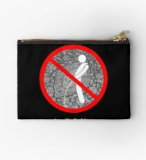 do not pee on the Dude's rug b Studio Pouch